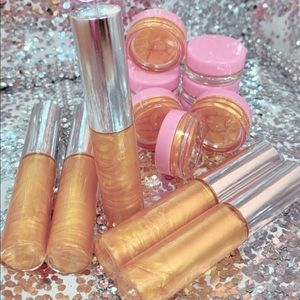 Other - Pure Gold ,Blissful Money Green Lipgloss